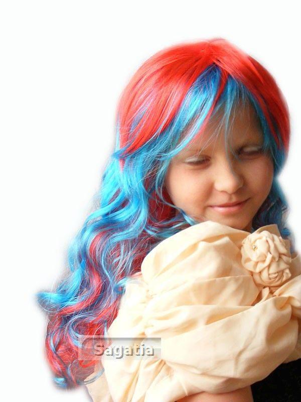 kolor: błękitno-czerwony