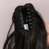 mocowanie treski-krab ukryty we włosach