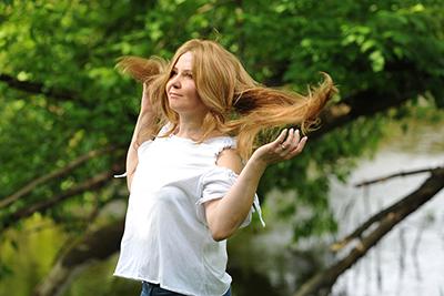 peruki długie włosy