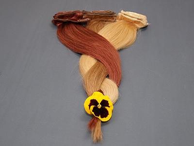 włosy naturalne clip in